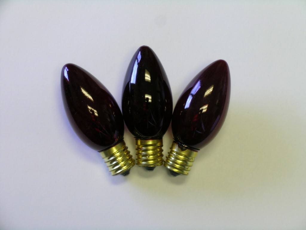 C9 Incandescent Twinkle Bulbs