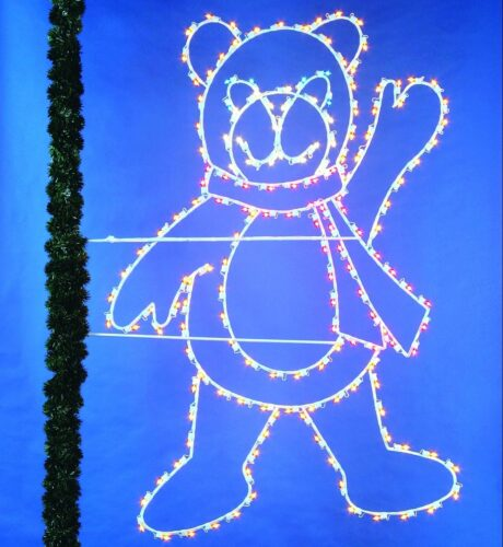 Waving Teady Bear