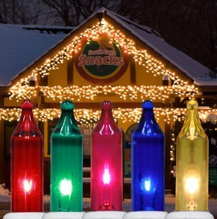 Multicolor Icicle Lights