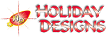 Commercial Christmas Decorations and Displays by Holiday Designs, Inc. Logo